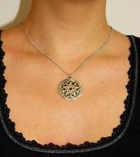 Wappen Pentagramm der Harmonie Stabilität Gold Silber roter Kristall WICCA LARP
