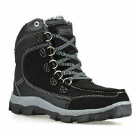 Mens Warm Thermal Fur Lined Walking Hiking Work Winter Ankle Boots Shoes Size