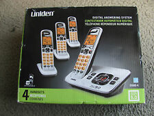 Brand New Uniden D1680-4 Digital Cordless Answering System with 4 Handsets