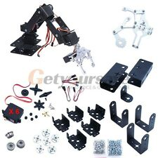New 6 DOF Manipulator Aluminum Robot Arm Kits for Smart Car Base w/ servo
