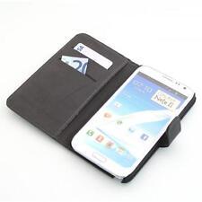 Samsung Galaxy Note 2 n7100 Custodia per cellulare portafoglio Custodia Guscio Protettivo Nero