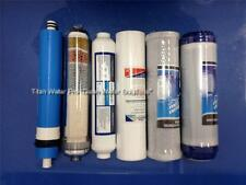 REVERSE OSMOSIS WATER FILTERS/MEMBRANE (35GPD) 6 PC Set-ALKALINE IONIZER NEG ORP