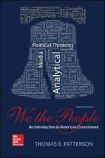 We The People: An Introduction to American Government PAPERBACK