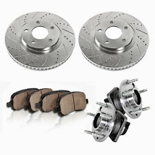 Front Rotors Hub Bearings Pads 1998 1999 2000 2001 2002 CAMARO FIREBIRD TRANS AM
