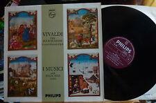 SAL 3582 Vivaldi The Four Seasons I Musici with Felix Ayo Violin Plum Silver NM