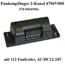 Sommer Funkempfänger 4796V000 2-Kanal 868,8 MHz für Garagentorantrieb