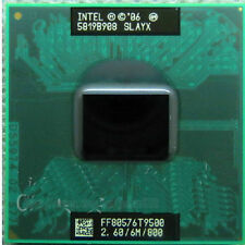 Intel Core 2 Duo T9500 2.6 GHz Dual-Core CPU Processor SLAYX FF80576T9500