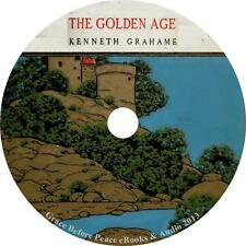The Golden Age, Kenneth Grahame Childrens Audiobook Fiction English 4 Audio CDs