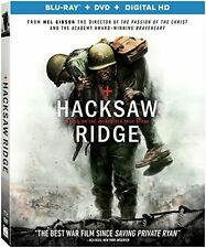 HACKSAW RIDGE  -  Region A   - BLU RAY - Sealed