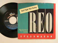 REO SPEEDWAGON 45 w/ps CAN'T FIGHT THIS FEELING /BREAK HIS SPELL~EPIC VG++ TO M-