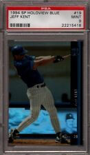 1994 SP *HOLOVIEW BLUE* # 19 JEFF KENT *RARE* NEW YORK N.Y. NY METS PSA 9 MINT