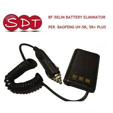 BF-5ELIM BATTERY ELIMINATOR PER  BAOFENG UV-5R, 5R+ PLUS, UV-9R