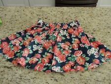Abercrombie & Fitch Women's Juniors Floral Skirt Size M GUC