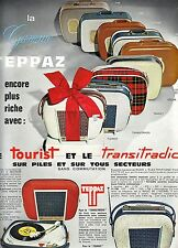 PUBLICITE ADVERTISING 034 1964 TEPPAZ Le Tourist et le Transitradio