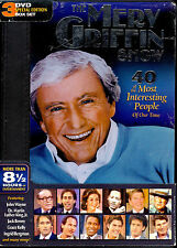 The Merv Griffin Show 40 of the Most Interesting People of Our Time 3 dvd boxset