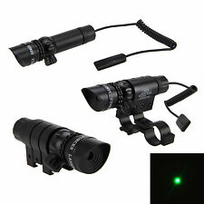 Tactique Rifle Laser vert dot sight Scope chasse Lumière Gun Adjustable w/Mount