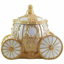 Walt Disney's Cinderella's Carriage Ceramic Cookie Jar, NEW UNUSED