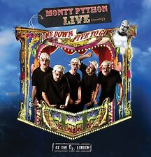 MONTY PYTHON - LIVE (MOSTLY)-ONE DOWN FIVE TO GO  DVD NEU