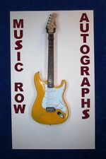 DAVE DAVID GROHL Signed Autograph Electric Guitar Nirvana Foo Fighters JSA