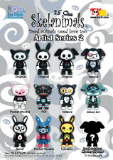 "Qee Skelanimals 2.5"" Artist Series 2 - Blind-Box Figure X1 Figurine by Toy2R"