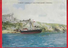 F.T. Everard, Scarcity Loading at dean stone quarry, Cornwall, shipping