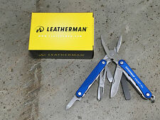 Leatherman Squirt PS4 Multitool - Blue  831192  9 Tools  Do it Yourself Projects