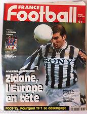 France Football du 27/05/1997; Juventus-Dortmund, Zidane/ Foot Tv et TF1