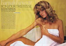 Coupure de presse Clipping 2009 Farrah Fawcett (4 pages)