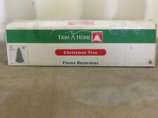7 FOOT TRIM-A-HOME ARTIFICIAL CHRISTMAS TREE BLUE MAJESTIC SPRUCE COMPLETE W/BOX