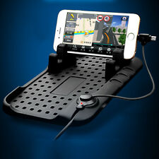 Car Phone Holder Anti-slip Silicone Pad Magnetic Charging Stand Base HOT SELL