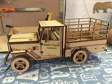 Toyota Landcruiser 3DLaser Cut Wooden Model/Puzzle Kit
