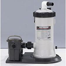 Hayward C550 Swimming Pool Cartridge Filter System w/1HP PowerFlo LX Pump SP1580
