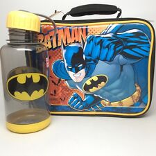 BATMAN INSULATED LUNCHBOX. INCLUDES A WATER BOTTLE!