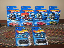 Hot Wheels Lot of 6 1968 Blower Ford Mustang Variation '68 FTE '03 Pink