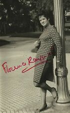FLORENCE RAYNAL French Soprano Original Vintage HANDSIGNED Photograph