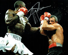 Johnny NELSON Signed 10x8 Autograph Photo AFTAL COA SHEFFIELD Champion BOXER
