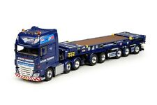 Tekno - DAF XF SSC FTG w/5-Axle Trailer & Flat Rack. !50th. MIB.