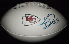 Knile Davis Signed Kansas City Chiefs Logo Football w/ Exact PROOF Arkansas Auto