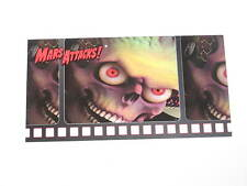 1996 MARS ATTACKS TOPPS WIDEVISION PROMO CARD RARE GREEN BACK VARIANT TIM BURTON