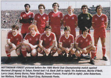 NOTTINGHAM FOREST FOOTBALL TEAM PHOTO 1980-81 SEASON
