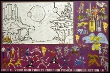 TV POSTER~Mighty Morphin Power Rangers 1994 Original  Full Size Poster New 2426~