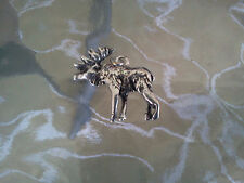 NORTHERN  ZOO ANIMAL 1 MOOSE 3D PEWTER CHARM or PENDANT ALL NEW
