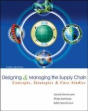 Designing and Managing the Supply Chain W/CD 3/e International Edition