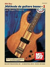 Electric Bass Method, Volume 1, French Edition (French Edition), Roger Filiberto