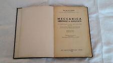 INGEGNERIA-MECCANICA GENERALE APPLICATA-ARTI GRAFICHE PONTI-ANNO 1947-