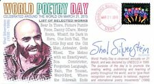 """COVERSCAPE computer designed """"World Poetry Day"""" 2015 event cover"""