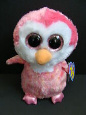 "NWT TY Beanie Boos 6"" CHILLZ Pink Penguin Five Below Exclusive Plush Boo NEW"