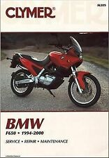 Clymer Manual - BMW F650 1994-2000 Part M309