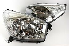 2001-2002 Toyota RAV4 European Type Electric Headlights Front Lamps PAIR