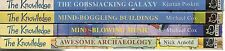4 PAPERBACKS THE KNOWLEDGE ARCHAEOLOGY GALAXY MUSIC BUILDINGS COX ARNOLD POSKITT